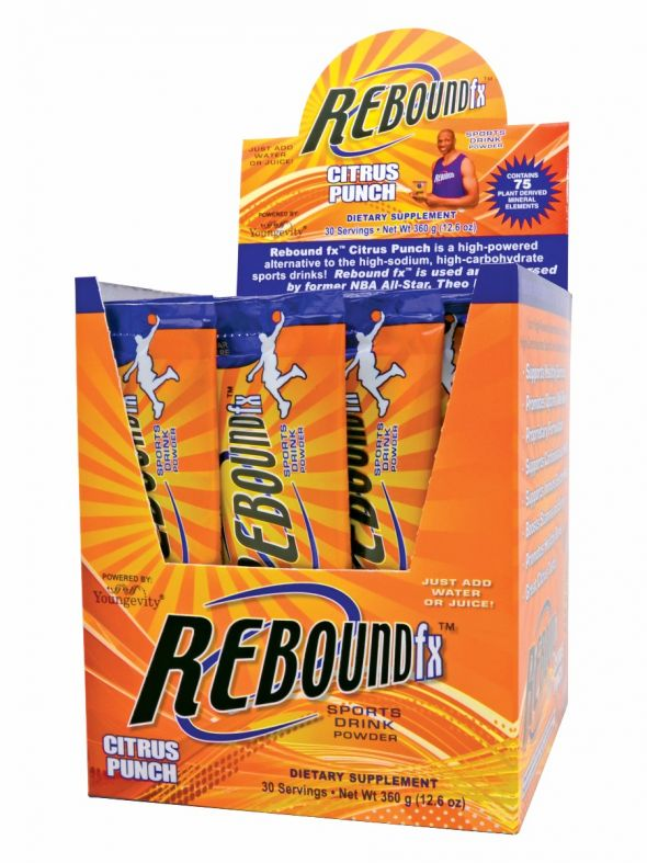 Rebound Fx™ On-The-Go Pouches Citrus Punch - 30 Count Box