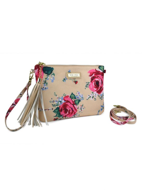 Ashley Antique Floral 3 in 1 Clutch