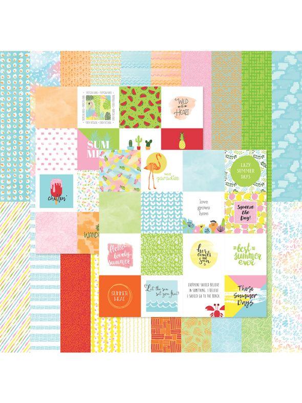 Summer Collection Designer Cardstock