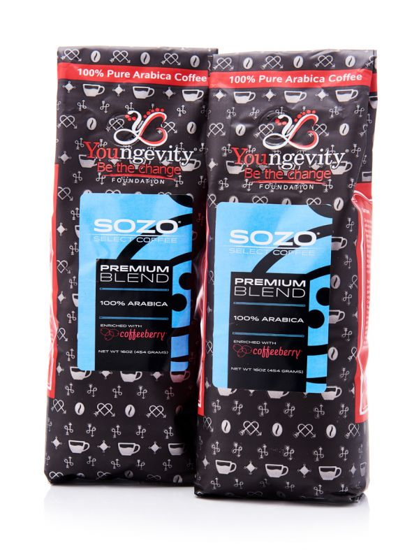 2-Pack Premium Enriched with Coffee Berry- Ground